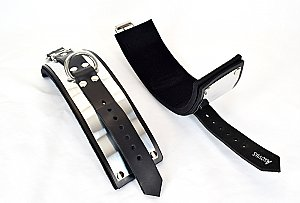 Metal Band Wrist Bondage Cuffs