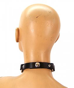 Ring Leader Leather Choker