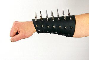 Spiked Leather Gauntlet (ea.)