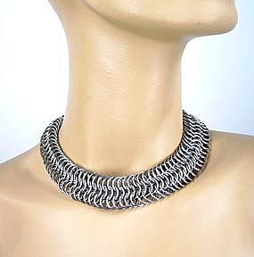 8-in-1 Weave Chainmaille Necklace