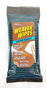 Weaver Wipes Leather Cleaner